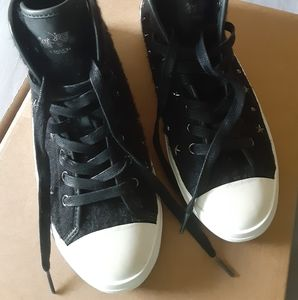 Coach womans empire studded high tops...
